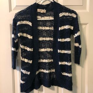 Pink Republic EUC girl's loose knit cardigan 10/12